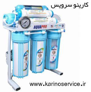 نصب و تعمیر دستگاه تصفیه آب خانگی آکوا و سی سی کا